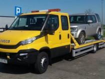 Transport platforma auto tractari avariate ieftin Bucuresti
