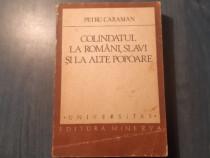 Colindatul la romani slavi si la alte popoare Petru Caraman