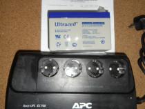 Sursa de curent UPS - APC 700 VA cu acumulator nou