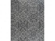 Covor Kilim, gri, 160 x 230 cm, bumbac, cu 246554