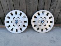 """Set 2 capace BMW originale pe 15"""", Stare buna !!!"""