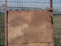 Usa metalica, din tabla groasa, dimensiuni 2.28 x 1.17