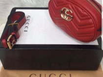 Genti Gucci mini/borsete,logo auriu diverse culori
