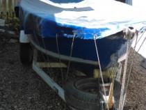 Barca aluminiu cu motor si peridoc