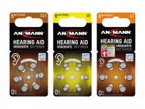 Set 6 baterii aparat auditiv - sigilate la blister, germania
