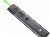 Pointer digital prezentari, Doosl, laser verde, 2.6Ghz, 100m