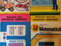 Matematica - Indrumatorul invatatorului, cls. I-IV, 1981