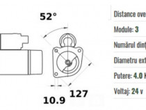 Electromotor tip 01183214, 03050442, 4 kw / 24 v