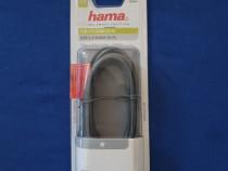 Cablu USB A - USB A HAMA