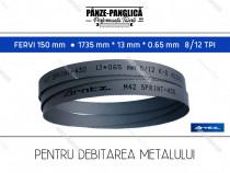 FERVI 150 mm 1735x13x8/12 panza fierastrau banda metal