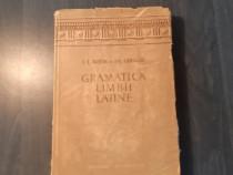Gramatica limbii latine de I. Bujor si Fr. Chiriac