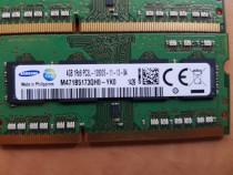 8GB (2×4Gb) RAM laptop DDR3 1600Mhz Samsung