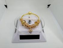 Bratara Pandora din Argint 925 / Placata cu Aur 24K