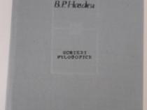 B p hasdeu scrieri filosofice