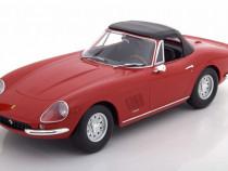 Macheta Ferrari 275 GTB/4 NART Spyder 1967 - KK Models 1/18