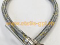 Racord GPL 1/2 3/8 70 cm combinat