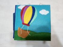 Carte senzoriala activitati pentru copii handmade