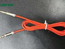 Cablu audio jack 3.5mm tata – conector jack 3.5mm tata, text