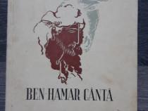 Carte veche vasile militaru ben hamar canta 1937