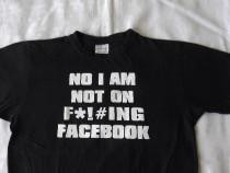 Tricou Facebook 100% bumbac