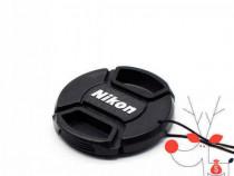Capac frontal protectie obiectiv Nikon 55mm camera foto DSLR