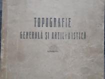 Carte veche topografie generala si artileristica 1944