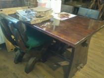 Mese şi scaune lemn masiv restaurant / terasa