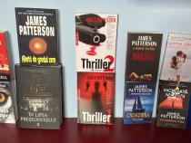 LOT 10 carti James Patterson - thriller,crima,mister - rare