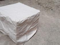 10 tabureti Ikea 40 cm × 40 cm inaltime 30 cm + burete +husa