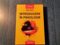 Introducere in psihologie de Mielu Zlate