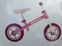 Bicicleta echilibru/Bicicleta fara pedale, roz, roti pe 10