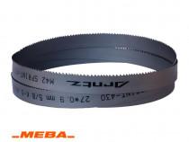 Fierastrau banda metal 3660x27x0.9x5/8 Meba 251 A