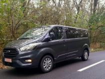 Inchiriez microbuz persoane cu sofer (8+1) Ford Transit nou