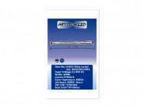 Proiector LED CH033 300W COMBO curbat, 1323 x 70 x 60mm