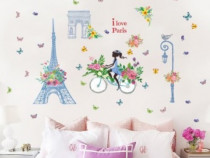 Sticker Decorativ, I Love Paris 138 Cm, 122STK