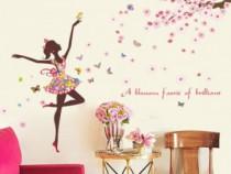Sticker Decorativ, A Blossom Faerie Of Brilliant, 88STK