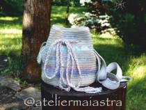 Geanta handmade crosetata