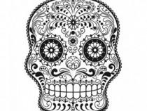 Sticker Decorativ, Skull, 78 Cm, 216STK-7