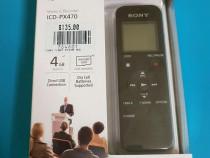 Sigilat cutie SONY ICD-PX470 reportofon profesional stereo