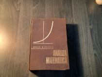 Analiza matematica de Marcel N. Rosculet