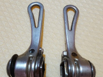 Manete duble pt. schimbatoare bicicleta prindere braze on