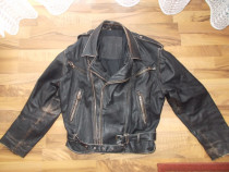 Geaca moto-chopper,rock sau de strada,model vintage , XL