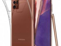 Husa telefon silicon samsung galaxy note 20 clear produs nou