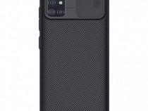 Husa telefon Silicon Samsung Galaxy A51 a515 Black Camera