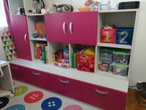 Mobilier camera copii cu pat rabatabil