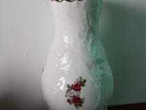 Vaze vintage din portelan, 25 cm H