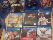 Jocuri PS4: FIFA19, Call of Duty, Uncharted 4, Rainbows sieg