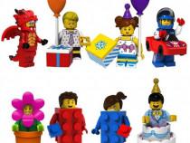 Set 8 minifigurine noi tip Lego seria 18.1