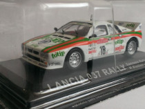 Macheta Lancia Rally 037 Raliul SanRemo 1983 - Altaya 1/43