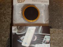 Suport telefon magnetic prindere pe orificiul ventilatie bor